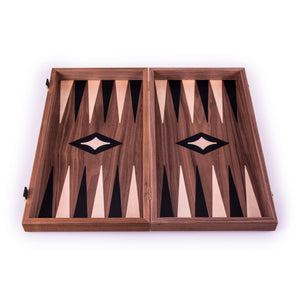 Backgammon en Bois de Noyer