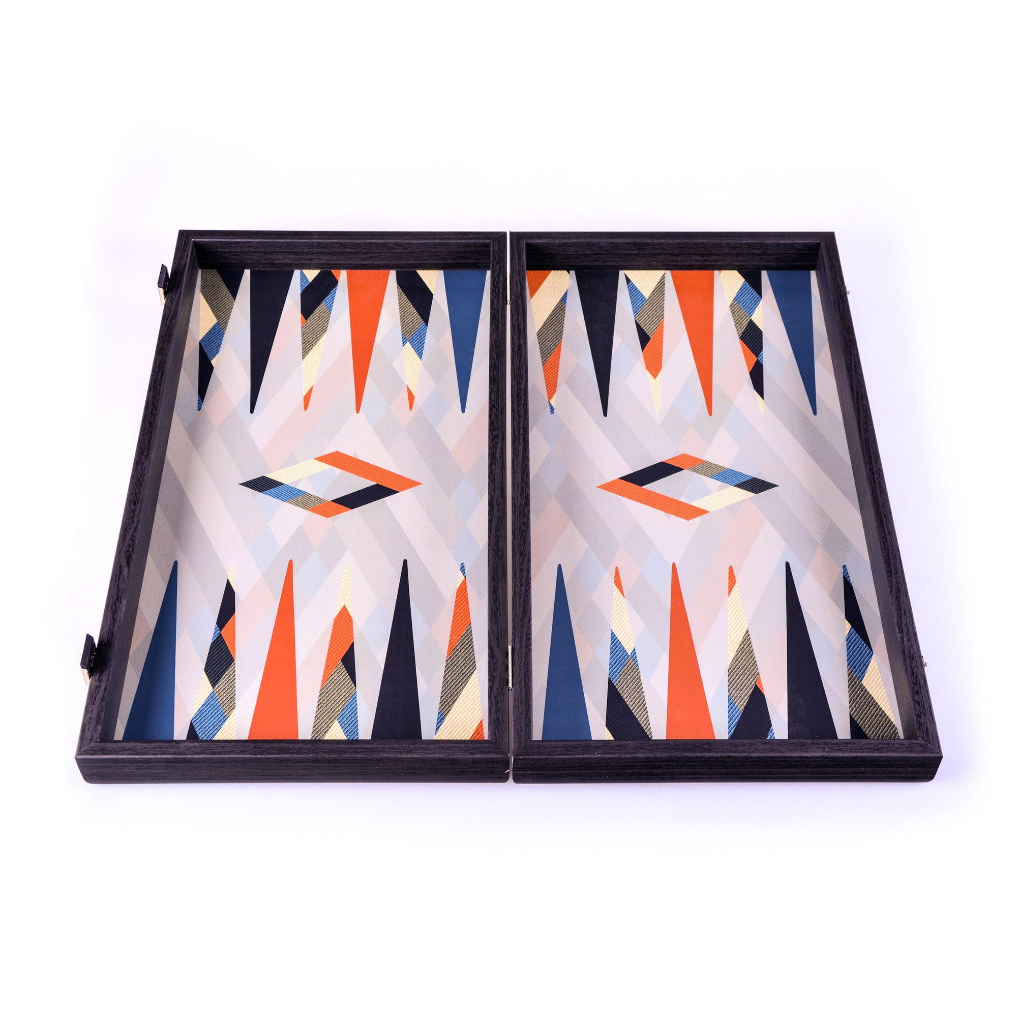 Backgammon Multicouleur Abstrait