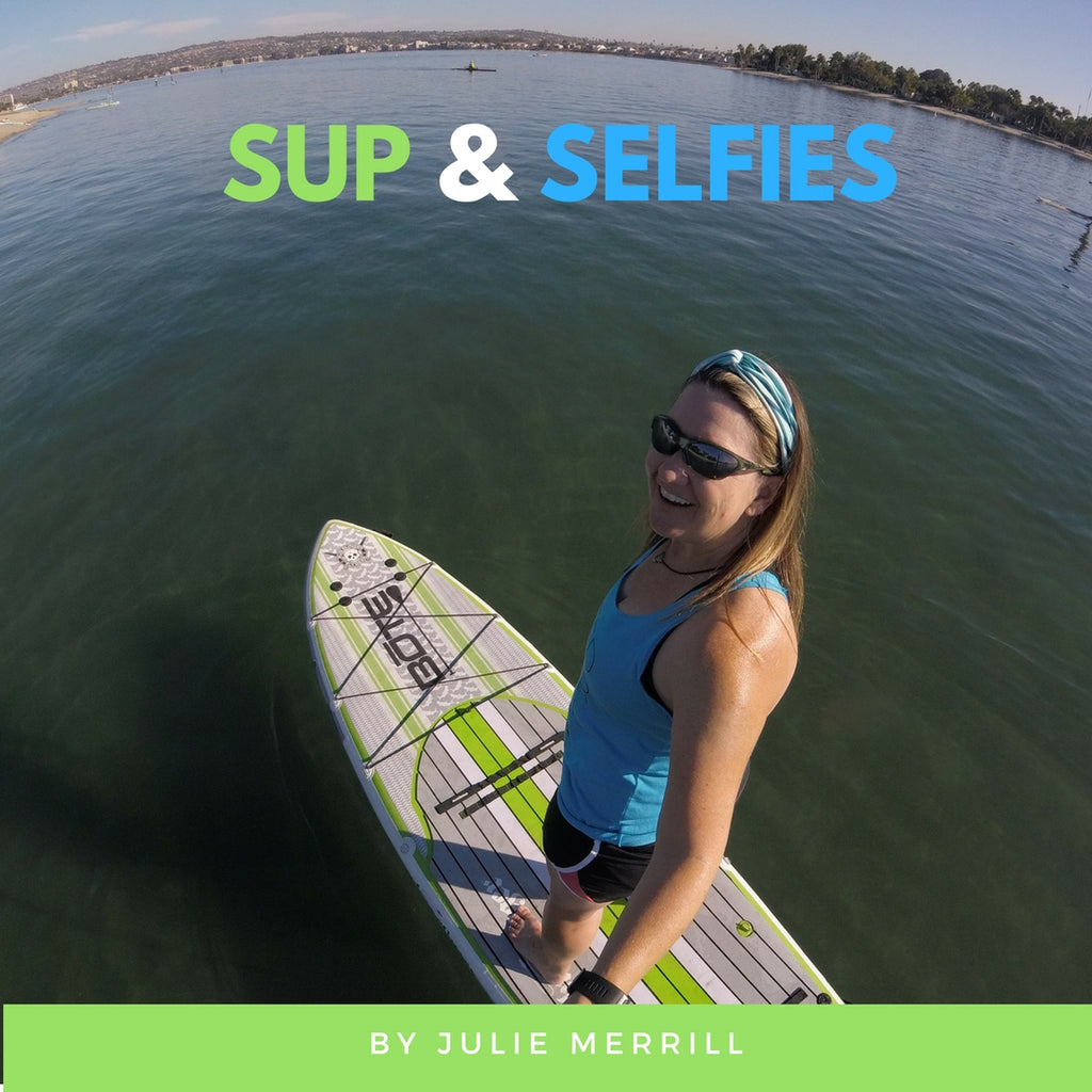 VIDEO: How to take a selfie on a stand up paddle board (SUP): GoPro and SUP selfies