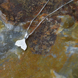 mermaid tail necklace sterling silver