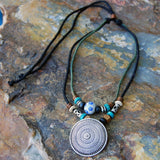 Medallion CHIC - stand up paddle board jewelry SUP necklace
