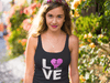 LOVE SUP - Soft Triblend Racerback Tank Top - IN STOCK