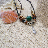 Tiki JADE - Stand up paddle board necklace SUP jewelry