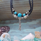 Turquoise Foxy CHIC - standup paddle board necklace SUP necklace jewelry