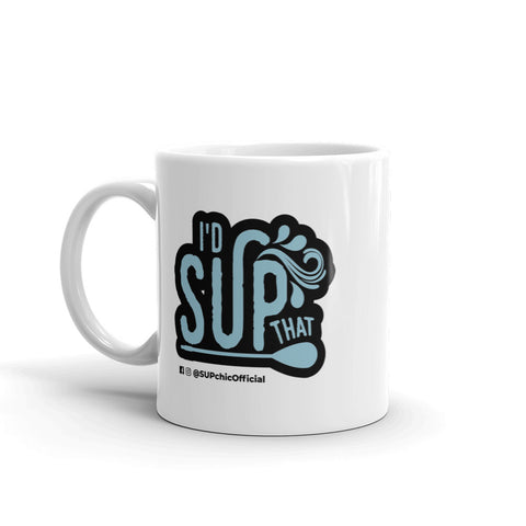 id sup that stand up paddle board coffee mug sup chic paddleboarding