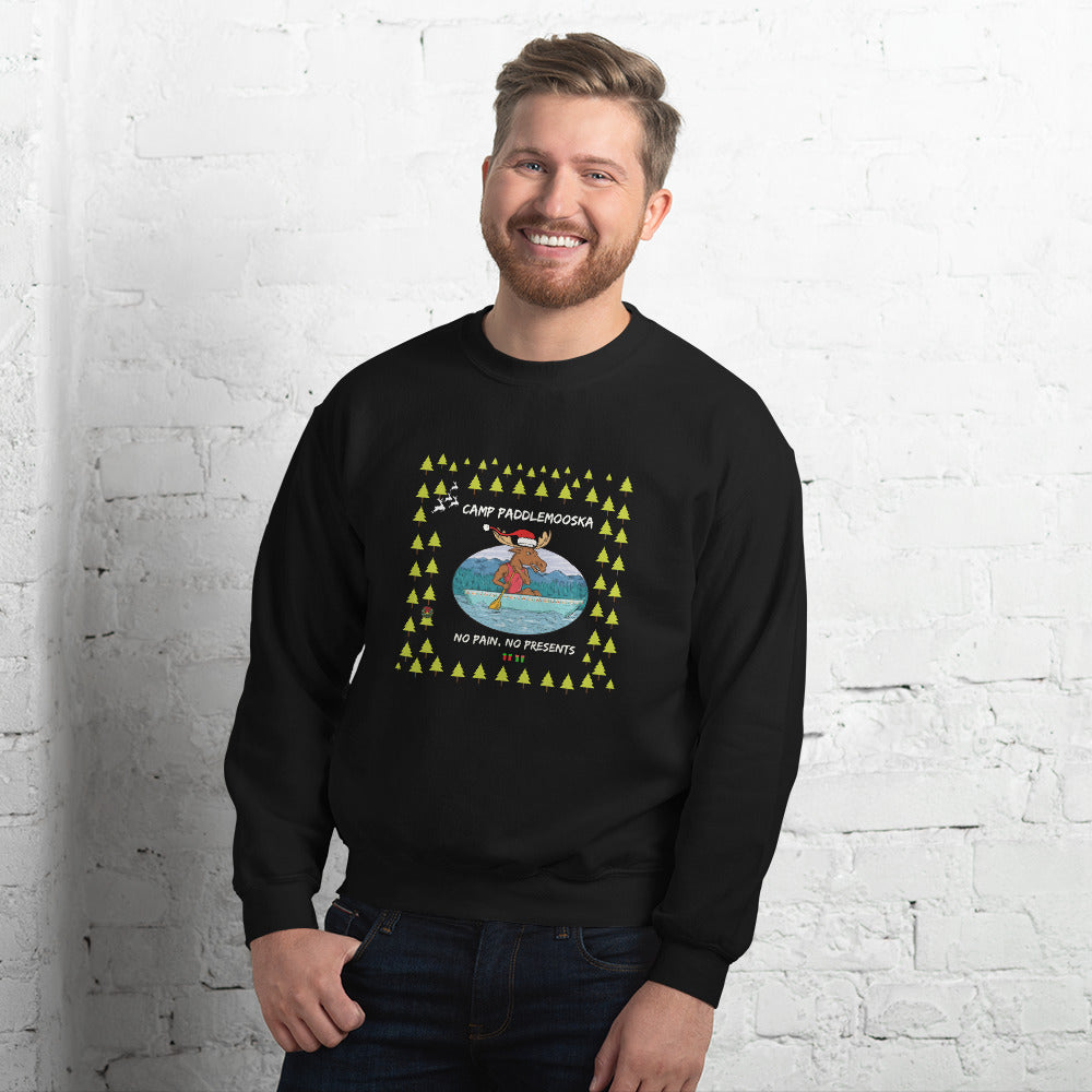 Camp PaddleMooska Ugly Christmas Sweater