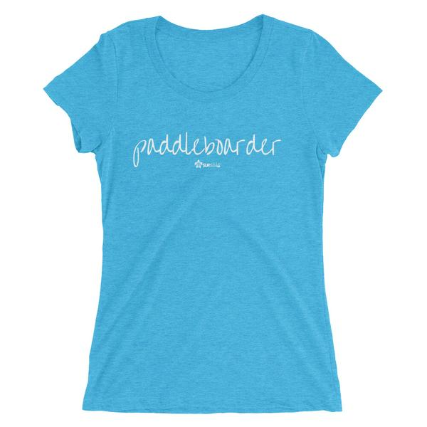 Paddleboarder - SUPer soft ladies short sleeve tshirt - IN STOCK