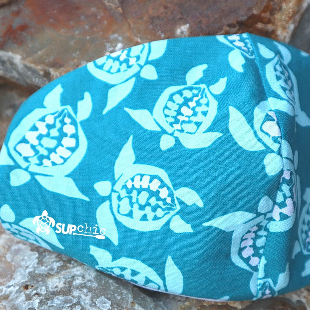 Amakua's Honu Mask in Teal