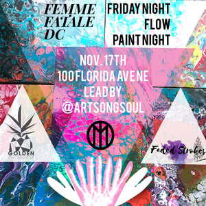 Friday Flow Paint Night