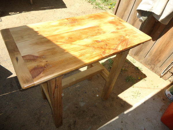 sunlit table