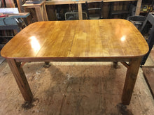 Reclaimed Birdseye Maple Table