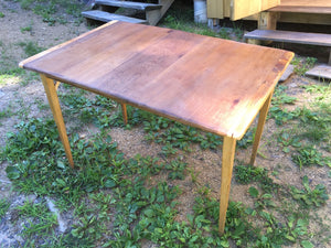 Reclaimed Mahogany Table