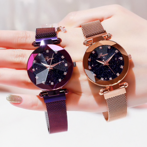 NEW Luxury Galaxy Star Watch with Magnetic band