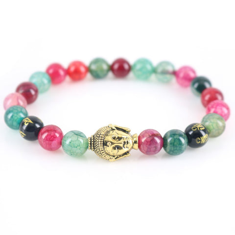 Natural Stone Light Beads Bracelet
