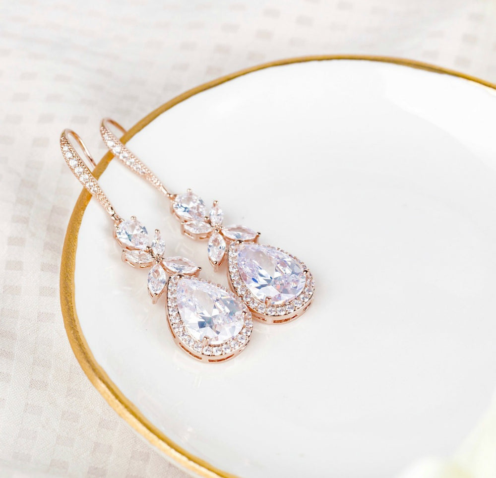 Isabella Drop Bridal Earrings
