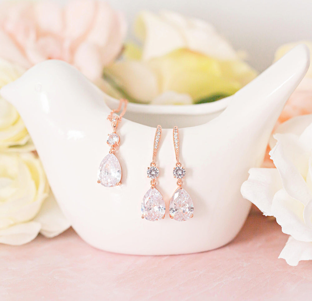 Tinsley Wedding Jewelry Set