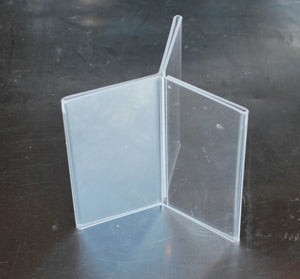 "Six Sided Acrylic Table Tent 4"" x 6"", Tabletop Display & Decor, n/a, Colorado Restaurant Consignment"