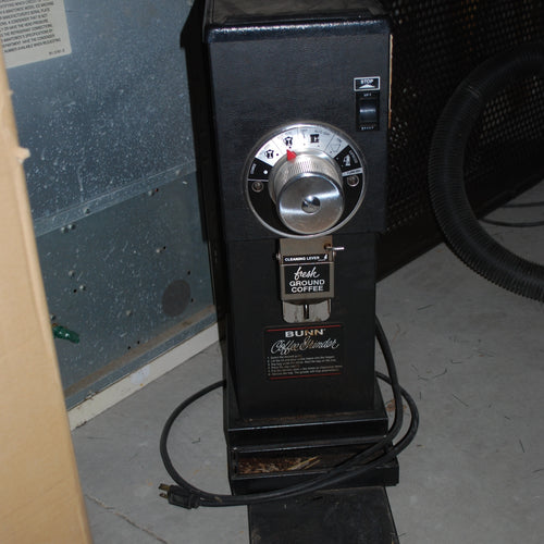 Bunn Heavy Duty Commercial Coffee Grinder, Coffee Grinder, Colorado Restaurant Consignment, Colorado Restaurant Consignment