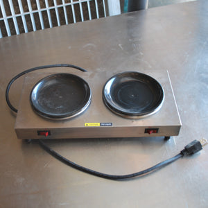 Bloomfield Double Burner Coffee Warmer, Coffee Warmer, Colorado Restaurant Consignment, Colorado Restaurant Consignment