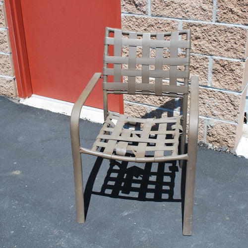 Outdoor Chair (for Frame Only), Multiple Available, Brown, Outdoor Chairs, Colorado Restaurant Consignment, Colorado Restaurant Consignment