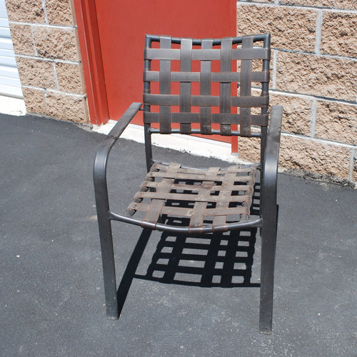 Outdoor Chair (for Frame Only), Multiple Available, Black/Gray, Outdoor Chairs, Colorado Restaurant Consignment, Colorado Restaurant Consignment