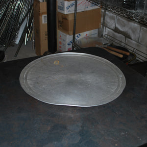 "20"" Aluminum Pizza Tray with Rim, Pizza Tools & Bakeware, Colorado Restaurant Consignment, Colorado Restaurant Consignment"