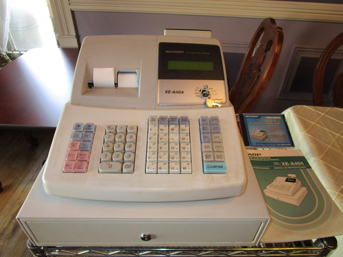 Sharp XE-A404 Electronic Cash Register, , Colorado Restaurant Consignment, Colorado Restaurant Consignment
