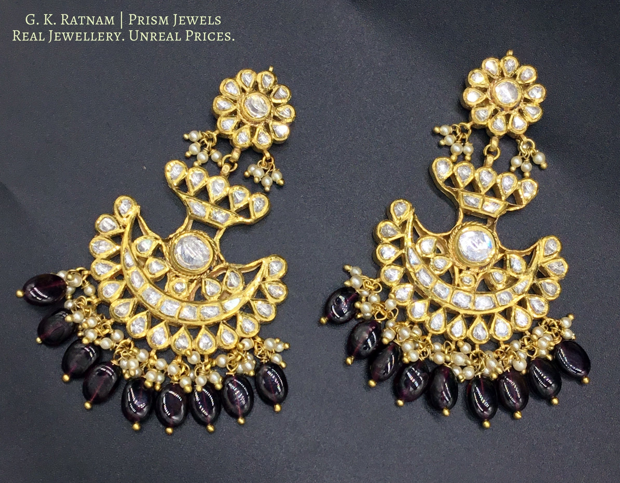 Pendant Set - gold diamond polki kundan meena jadau jewellery