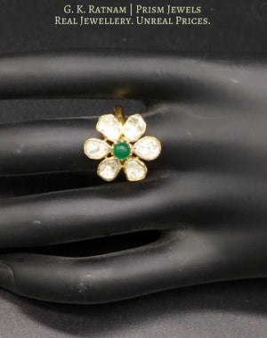 Ring - gold diamond polki kundan meena jadau jewellery