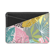 Pastel Leaves - Card Holder
