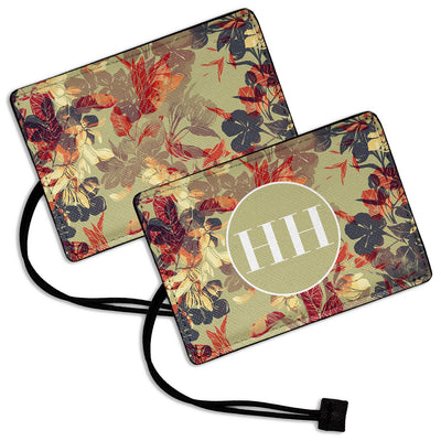 Leaves - Luggage Tag