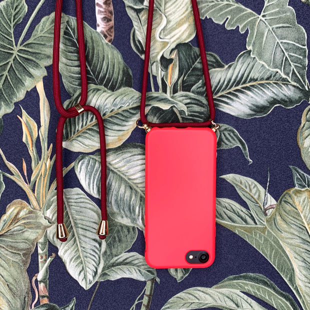 iPhone Crossbody Case - Red