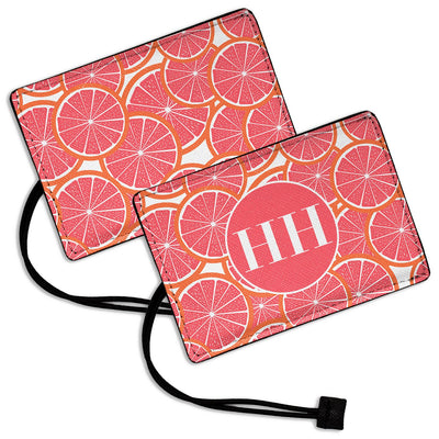 Pink Grapefruit - Luggage Tag