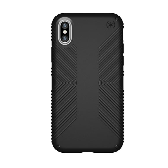 Speck CandyShell Grip iPhone X - Black/Slate Grey