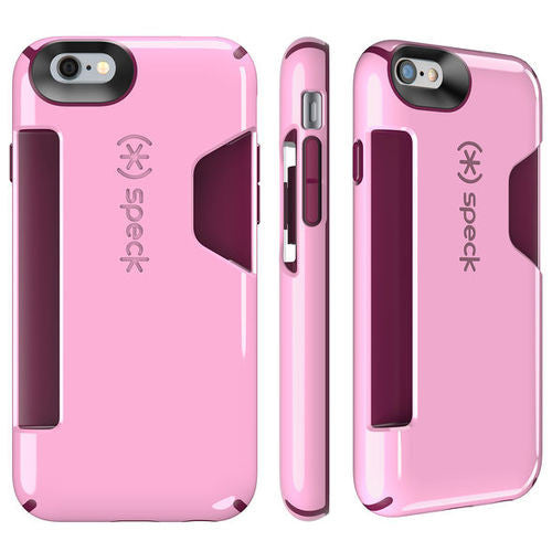Speck CandyShell Card iPhone 6/6S - Pink/Red