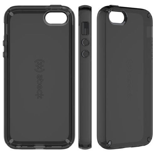 Speck CandyShell iPhone 5/5S/SE  Clear -  Onyx Black