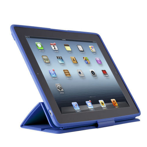Speck PixelSkin HD Wrap for iPad 2/3/4 - Cobalt Blue