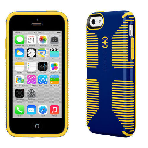 Speck CandyShell Grip iPhone 5C - Blue/Yellow