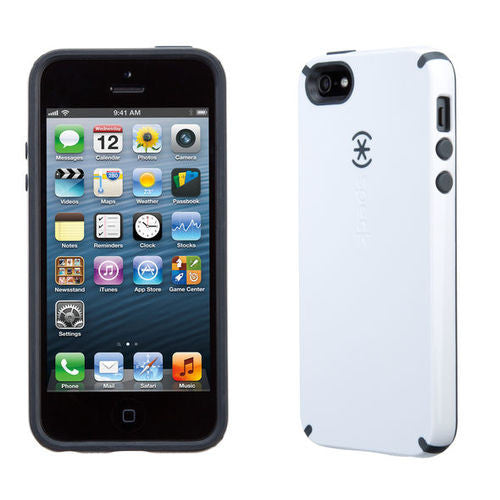 Speck CandyShell Grip iPhone 5/5S/SE - White/Black