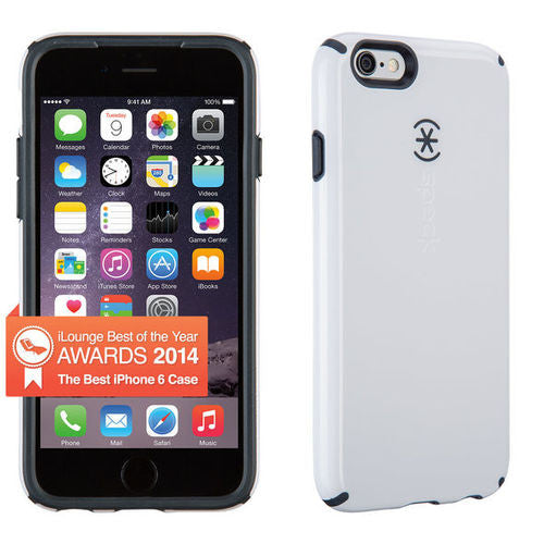 Speck CandyShell iPhone 6/6S - White/Charcoal Grey