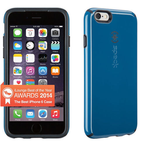 Speck CandyShell iPhone 6/6S - Tahoe Blue/Charcoal Grey