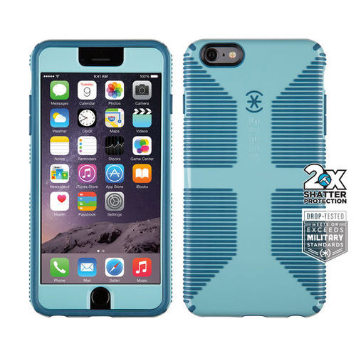 Speck CandyShell Grip Faceplate iPhone 6 Plus/6S Plus - River Blue/Tahoe Blue