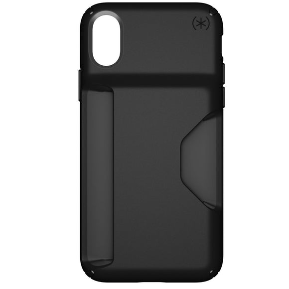 New - Speck Presidio Wallet for iPhone X - Black