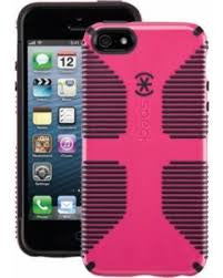 Speck CandyShell Grip - iPhone 5/5S/SE  - Raspberry/Black
