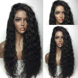 【Perruque】Silk Base Lace Wigs Bouclé (Loose Curly) 100% Cheveux Malaisiens