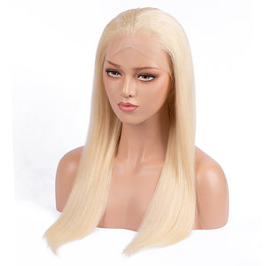 【Perruque 2018】Ultra Lisse Lace wig 613 Blond 100% Cheveux Humains Péruviens