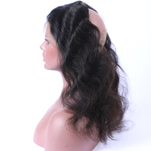 360 Lace Frontal Ondulé (Body Wave) Noir Naturel 100% Cheveux Brésiliens