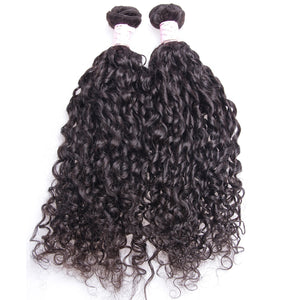 10A Tissage Bouclé (Loose Curly)Noir Naturel 100% Cheveux Vierges Indiens