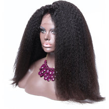 【Perruque】360 Lace Wigs Densité 180% Kinky Straight 100% Péruvien Remy Hair