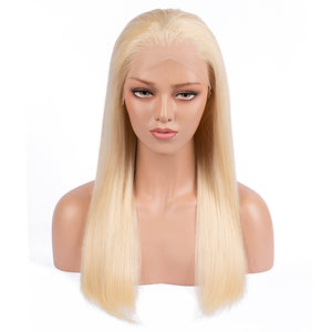 Copy of 【Perruque 2019】Ultra Lisse Lace wig 613 Blond 100% Cheveux Humains Péruviens